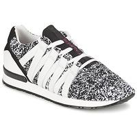 Schoenen Dames Lage sneakers Serafini MIAMI Zwart / Wit