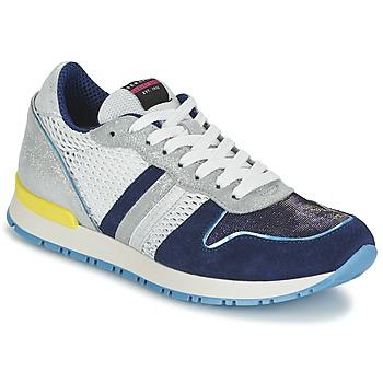 Schoenen Dames Lage sneakers Serafini LOS ANGELES Blauw / Wit