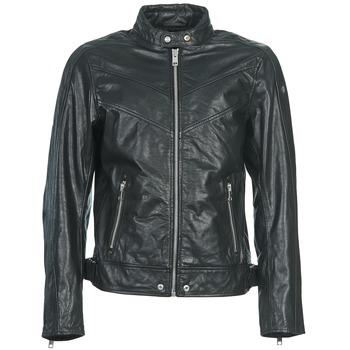 Textiel Heren Leren jas / kunstleren jas Diesel L-REED Zwart