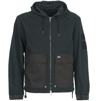 Textiel Heren Wind jackets Diesel J-DAN-MIX Zwart / Brown