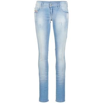 Textiel Dames Skinny jeans Diesel GRUPEE Blauw / 01