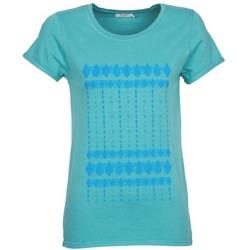 Textiel Dames T-shirts korte mouwen Kulte JULIETTE BATIK Blauw