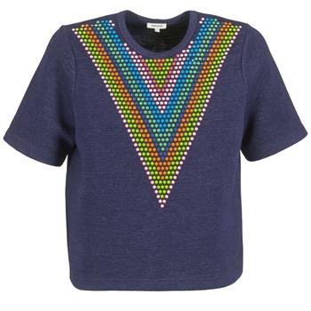 Textiel Dames Sweaters / Sweatshirts Manoush DOUDOU STAR Marine