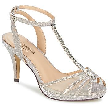 Schoenen Dames Sandalen / Open schoenen Menbur PALMA Zand / Irisé