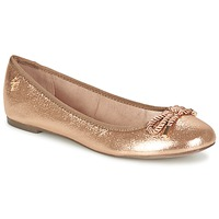 Schoenen Dames Ballerina's Menbur ZINNA Roze / Gold