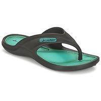 Schoenen Kinderen Slippers Rider CAPE VII Zwart / Groen