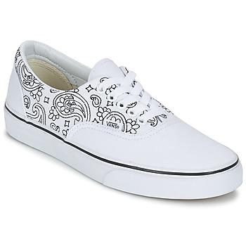 Schoenen Lage sneakers Vans ERA Wit / Zwart