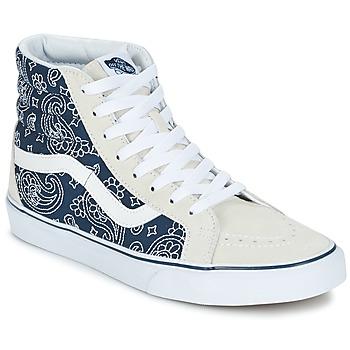 Schoenen Hoge sneakers Vans SK8-HI REISSUE Blauw / Wit