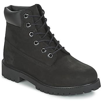 Schoenen Jongens Laarzen Timberland 6 IN PREMIUM WP BOOT Zwart