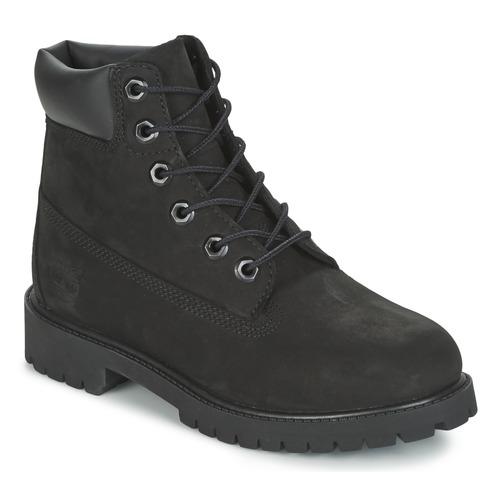 Schoenen Kinderen Laarzen Timberland 6 IN PREMIUM WP BOOT Zwart
