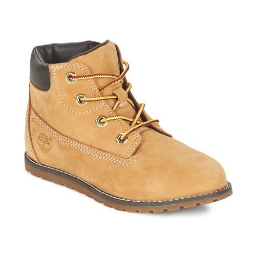 Schoenen Kinderen Laarzen Timberland POKEY PINE 6IN BOOT WITH Graan