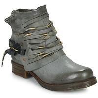 Schoenen Dames Hoge laarzen Airstep / A.S.98 SAINT Zwart / FUME