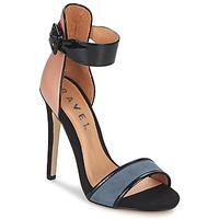 Schoenen Dames Sandalen / Open schoenen Ravel Pansy Nude /  zwart