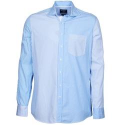 Textiel Heren Overhemden lange mouwen Hackett GORDON Blauw
