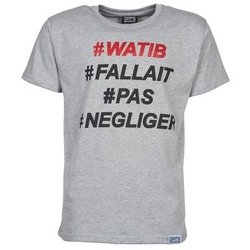 Textiel Heren T-shirts korte mouwen Wati B NEGLIGER Grijs