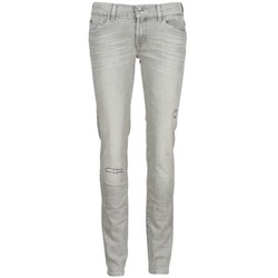 Textiel Dames Skinny jeans 7 for all Mankind ROXANNE DESTROYED Grijs