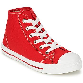 Schoenen Heren Hoge sneakers Yurban WAXI Rood
