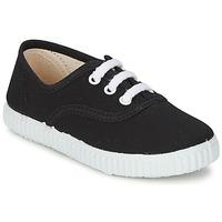 Schoenen Kinderen Lage sneakers Citrouille et Compagnie KIPPI BOU Zwart