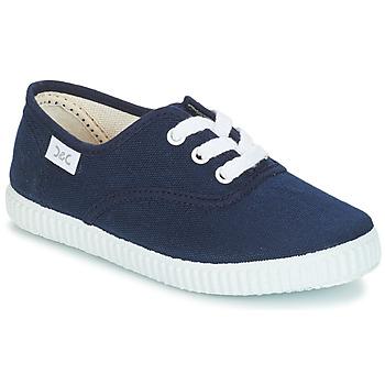Schoenen Kinderen Lage sneakers Citrouille et Compagnie KIPPI BOU Marine