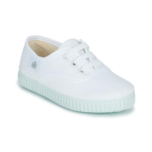 Schoenen Kinderen Lage sneakers Citrouille et Compagnie KIPPI BOU Wit