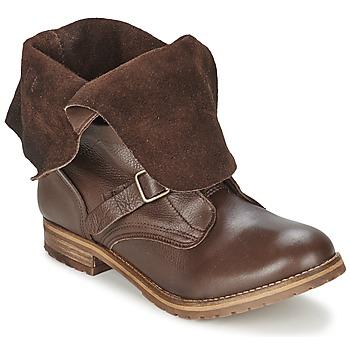 Schoenen Dames Laarzen Casual Attitude DISNELLE Brown