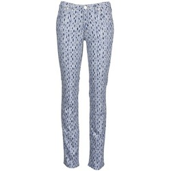 Textiel Dames Straight jeans Lee MARION STRAIGHT Imprimé / Blauw