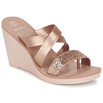 Schoenen Dames Sandalen / Open schoenen Grendha PARADISO II PLAT Roze / Métallisé