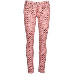 Textiel Dames Skinny jeans Lee SCARLETT Rood / Orange