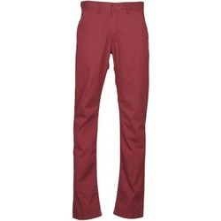 Textiel Heren Chino's Lee CHINO OXBLOOD Rood