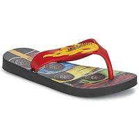 Schoenen Jongens Slippers Ipanema HOT WHEELS TYRE Rood / Zwart