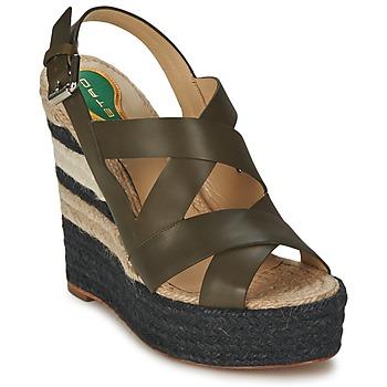 Schoenen Dames Sandalen / Open schoenen Etro 3948 Brown