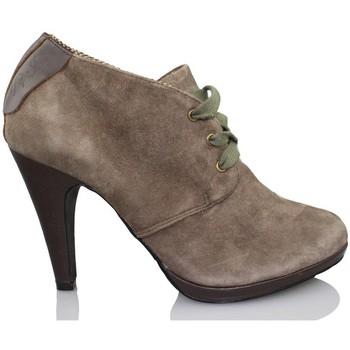 Schoenen Dames Low boots Pepe jeans BROWN HI HEEL MARRON