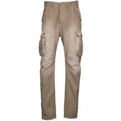 Textiel Heren Cargobroek Freeman T.Porter PUNACHO COTTON GAB CHOCOLATE CHIP Brown / Beige
