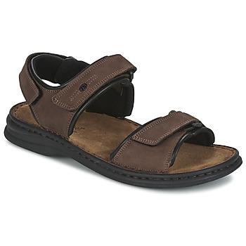 Schoenen Heren Sandalen / Open schoenen Josef Seibel RAFE Brown / Zwart