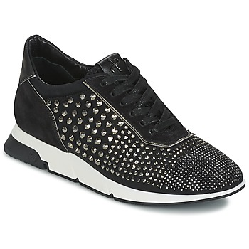 Schoenen Dames Lage sneakers Luciano Barachini SOHO Zwart