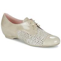Schoenen Dames Derby Pitillos CLETTE Ecru
