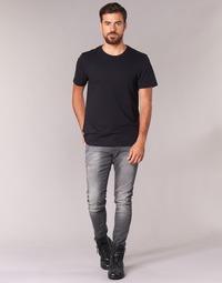 Textiel Heren Skinny Jeans G-Star Raw REVEND SUPER SLIM Grijs