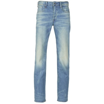 Textiel Heren Straight jeans G-Star Raw 3301 STRAIGHT DENIM
