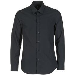 Textiel Heren Overhemden lange mouwen G-Star Raw CORE Zwart