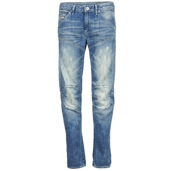 Textiel Dames Straight jeans G-Star Raw 5620 3D LOW BOYFRIEND WMN MEDIUM / Aged / Painted / SCATTER / DENIM