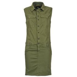 Textiel Dames Korte jurken G-Star Raw ROVIC SLIM DRESS WMN S/LESS Kaki