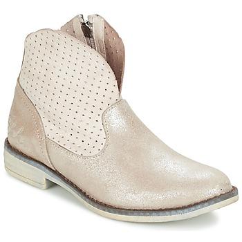 Schoenen Meisjes Laarzen Ikks CINDY Zilver