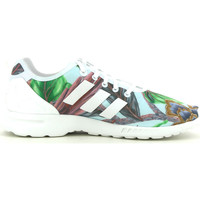 Schoenen Dames Lage sneakers adidas Originals ZX Flux smooth Blauw