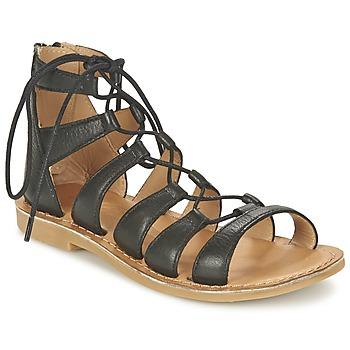 Schoenen Meisjes Sandalen / Open schoenen Shwik LAZAR HI LACE Zwart