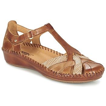 Schoenen Dames Sandalen / Open schoenen Pikolinos PUERTO VALLARTA 655  CAMEL
