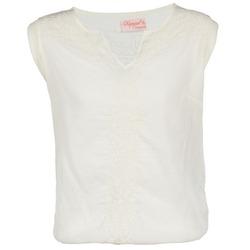 Textiel Dames T-shirts korte mouwen Kaporal EVER Wit