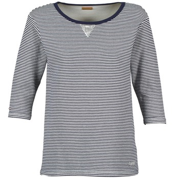 Textiel Dames Sweaters / Sweatshirts Napapijri BOISSERON Marine / Wit