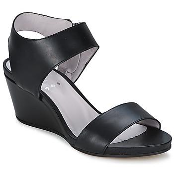 Schoenen Dames Sandalen / Open schoenen Perlato SELCETTA Zwart
