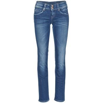 Textiel Dames Straight jeans Pepe jeans GEN Blauw / D45