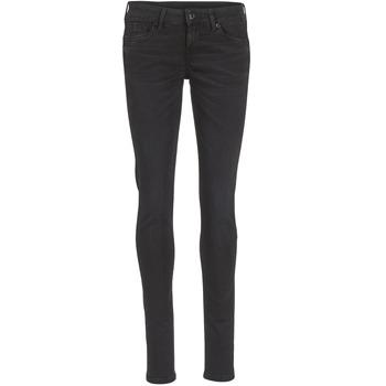 Textiel Dames Skinny Jeans Pepe jeans SOHO S98 / Zwart